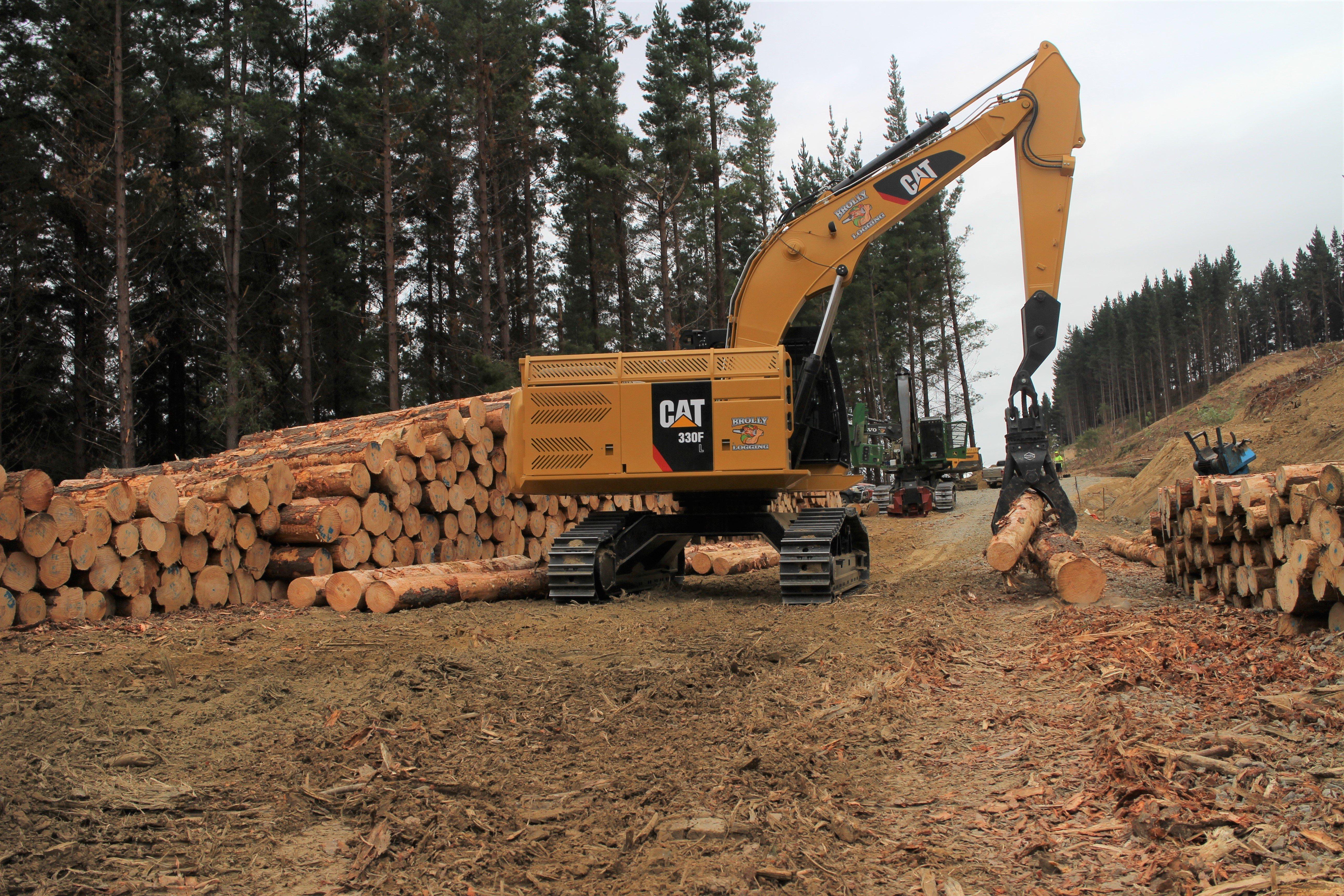 Brolly Logging Cat Loader